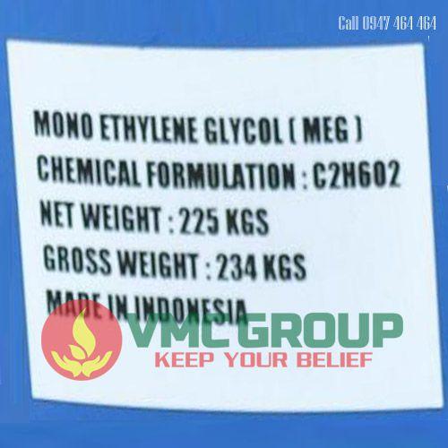 MEG-MONO ETHYLENE GLYCOL-C2H6O2 dung moi pha son