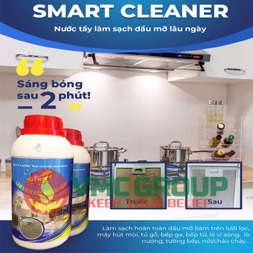Smart Cleaner nuopc tay sach dau mo lau ngay