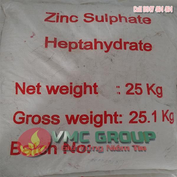 ZINC SULPHATE – KẼM SUNPHAT – ZnSO4 QN